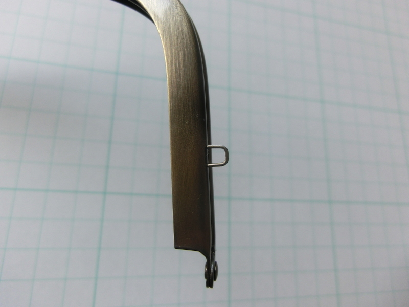 画像3: 【口金】カン付・17センチくし型・AG
