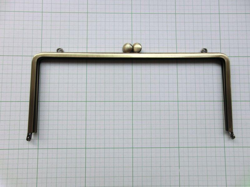 画像5: 【型紙&レシピと口金のセット】21センチ角クラッチバッグ(口金・カンAG)