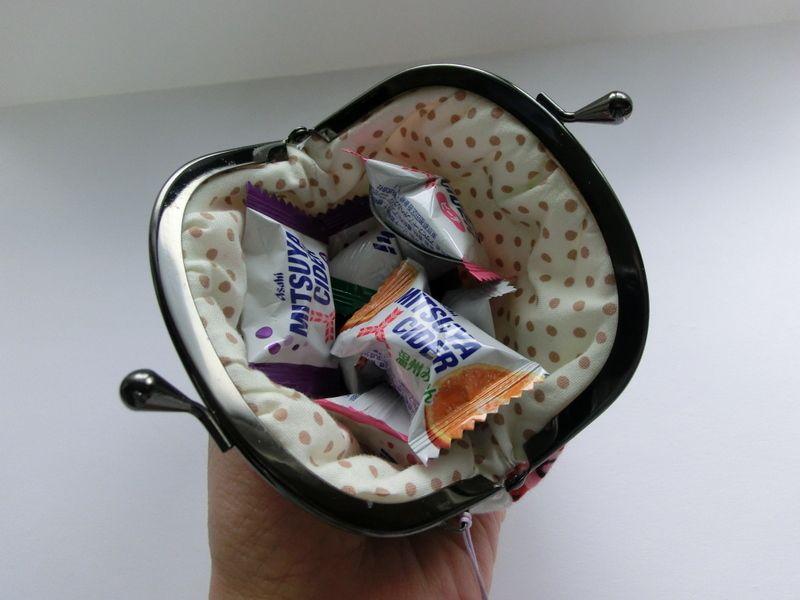 画像3: 【型紙&レシピと口金のセット】 10cmギャザーがま口 (口金・銀)