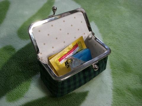 画像2: 【型紙&レシピと口金のセット】 BOX型がま口 (口金・銀)