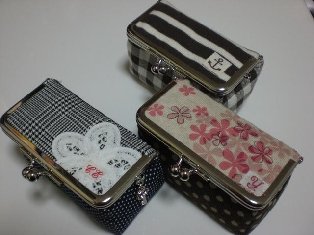 画像1: 【型紙&レシピと口金のセット】 BOX型がま口 (口金・銀)