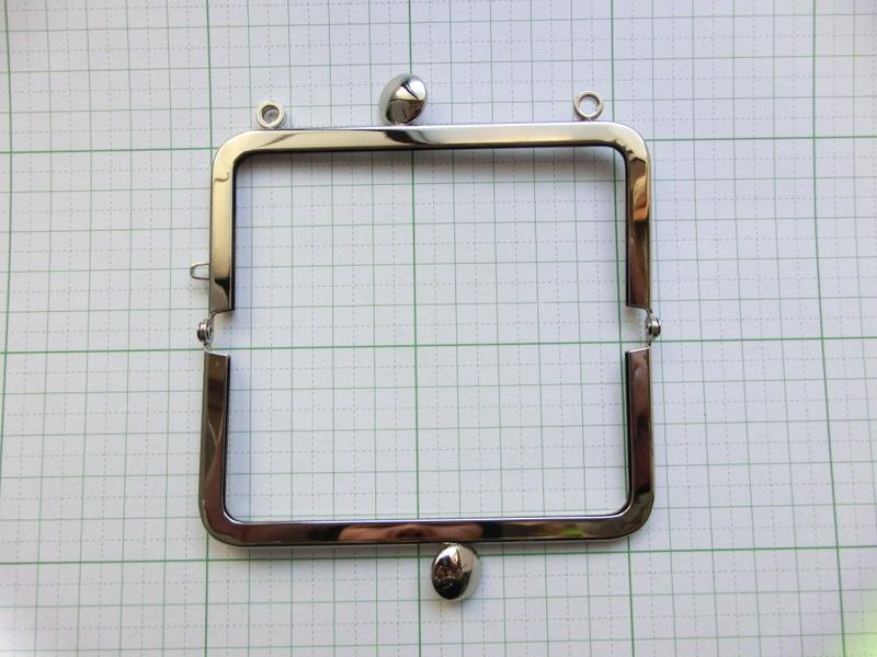 画像2: 【口金】10角型・カン付碁石つまみ・銀