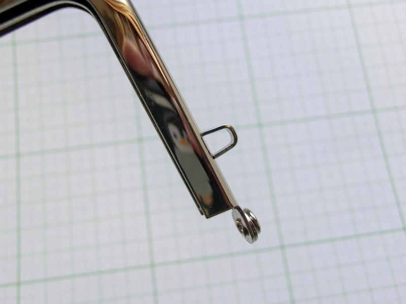 画像4: 【口金】カン付・12角碁石つまみ・銀(デジカメケース)