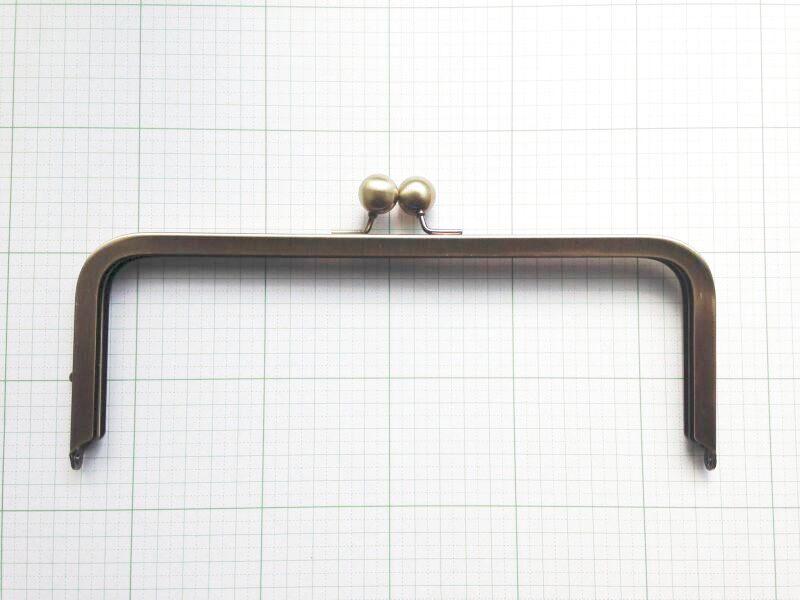 画像1: 【口金】24cm大玉・角型バック用(2個までDM便可能)