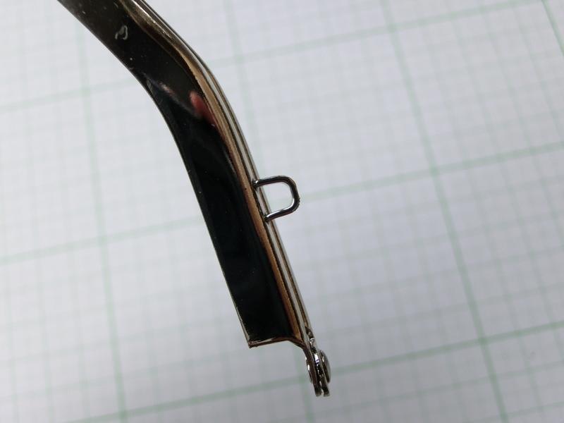 画像5: 【口金】バック型押し口・銀