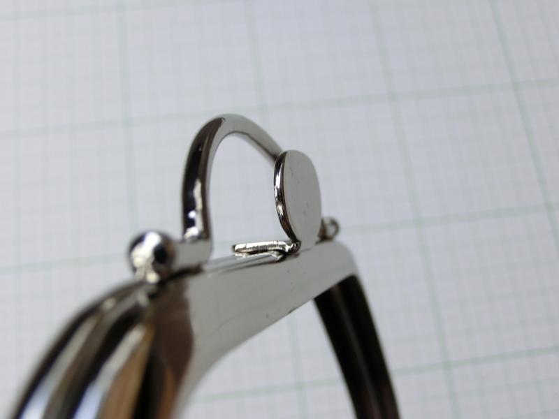 画像4: 【口金】バック型押し口・銀