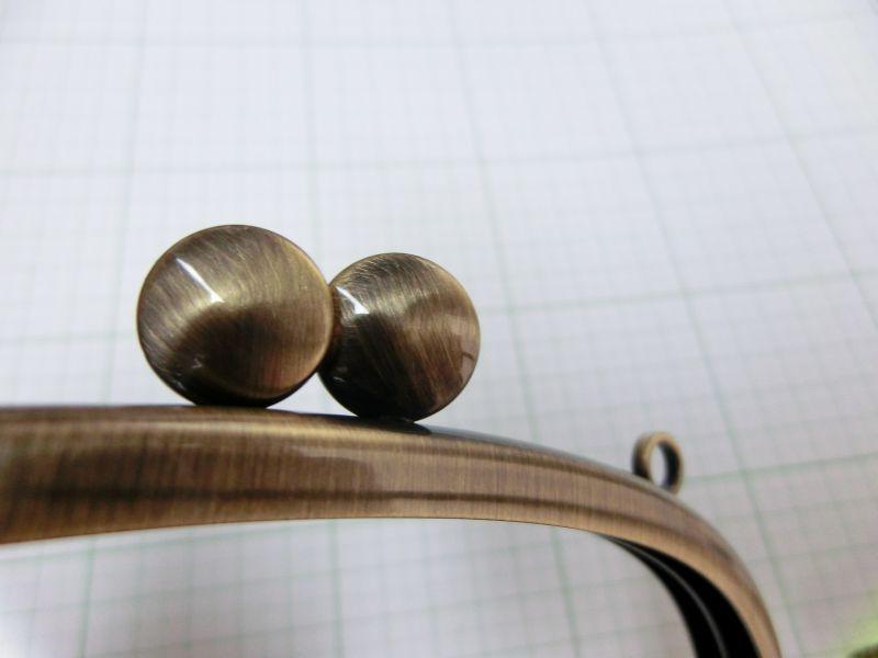 画像2: 【口金】カン付・15センチくし型・碁石ひねり