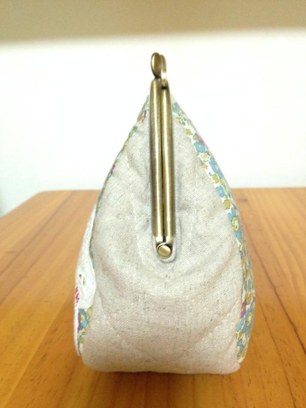画像5: 【型紙・レシピ】15cm版マチ別布がま口