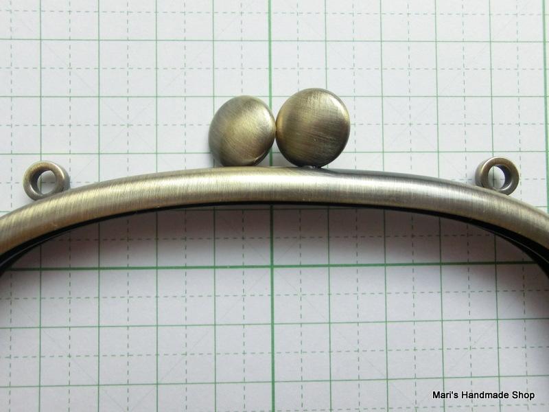 画像3: 【口金】カン付・12・5cmくし型・碁石つまみ・AG