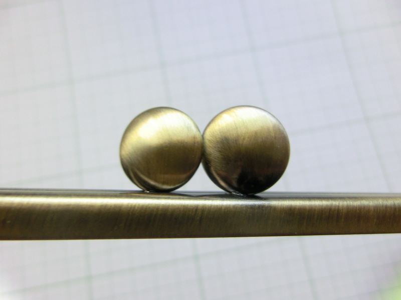 画像3: 【口金】12角型・碁石つまみ・AG(デジカメケース)