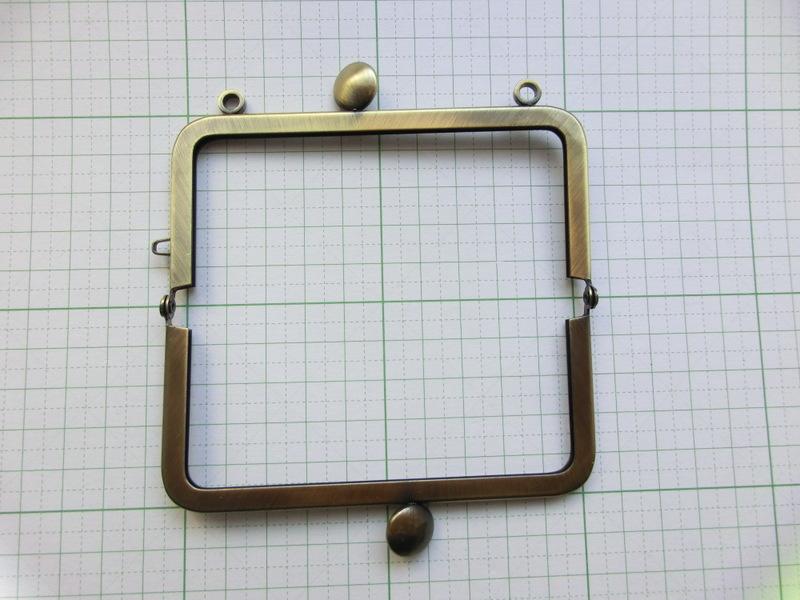 画像2: 【口金】10角型・カン付碁石つまみ・AG