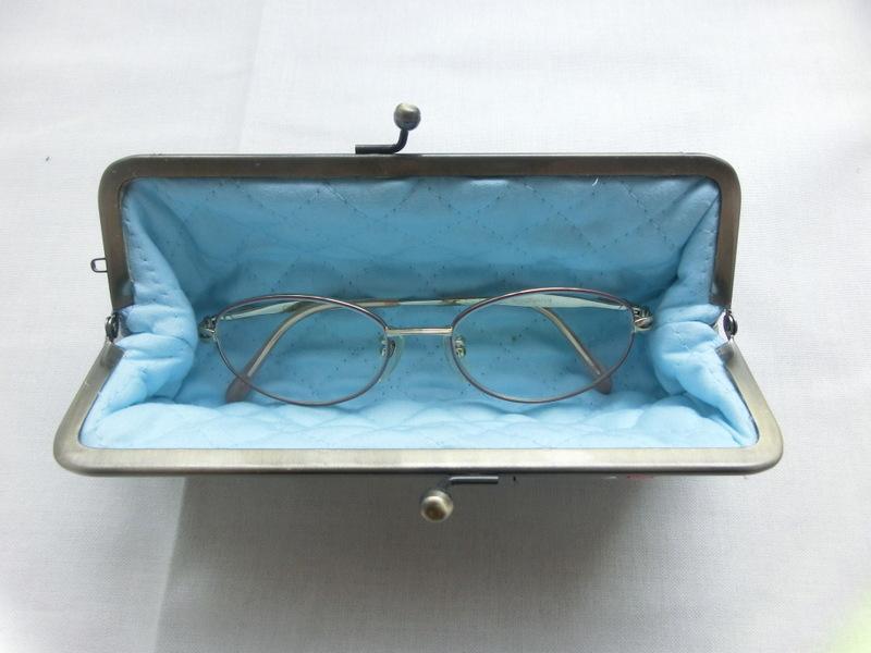 画像2: 【型紙・レシピ】マチ一体型ペンケース(眼鏡ケース)がま口