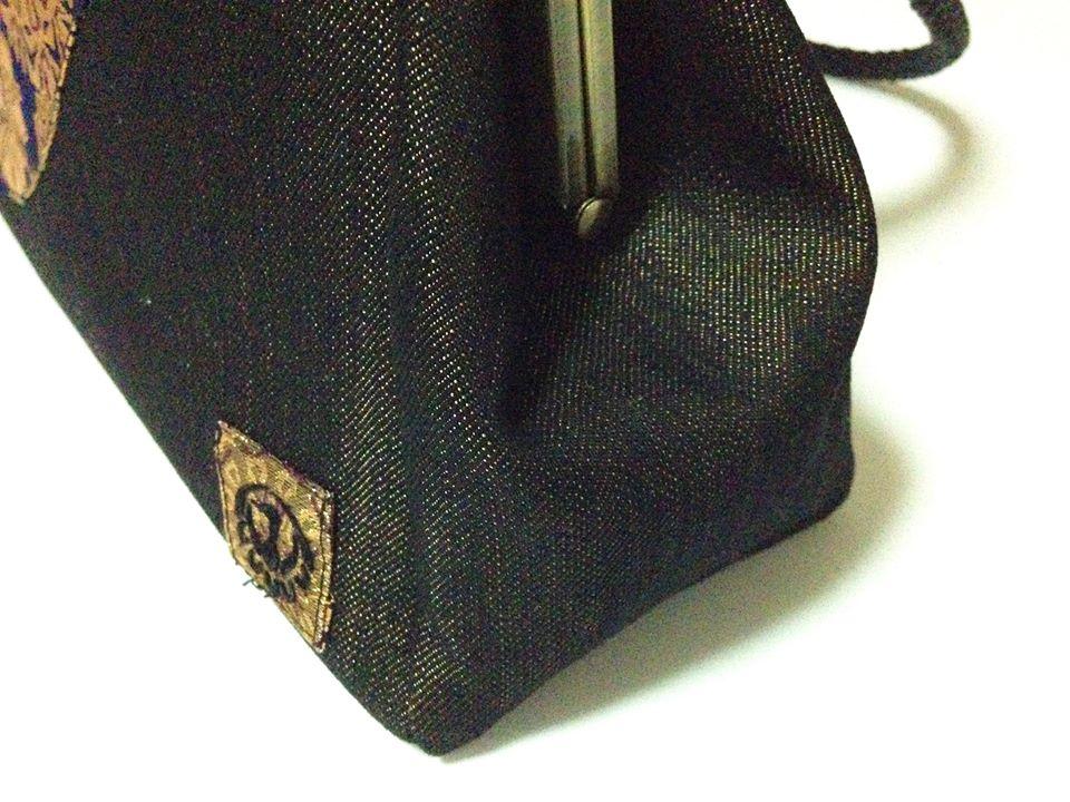 画像3: 【型紙&レシピと口金のセット】24cm版ポケットがま口バック