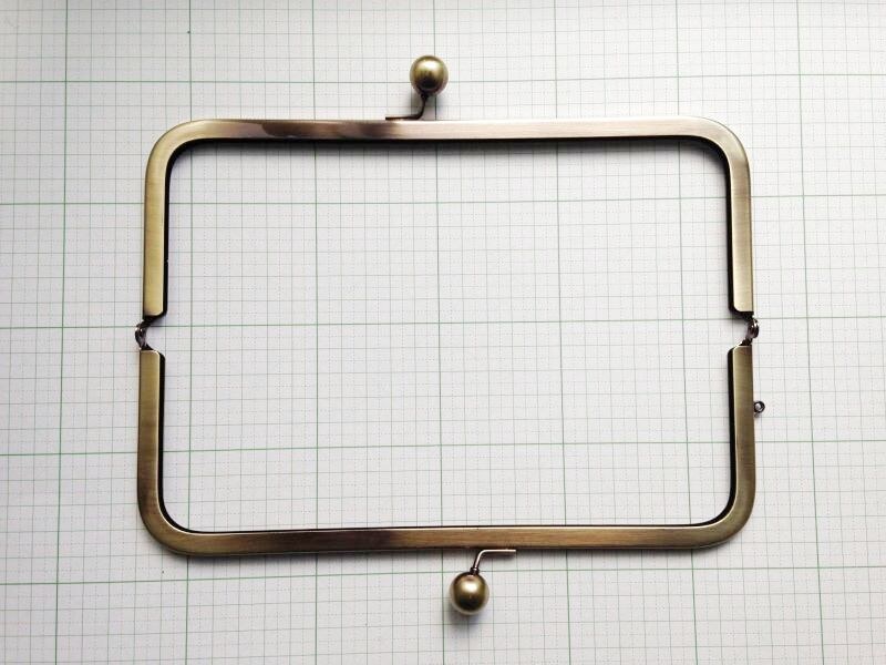 画像2: 【口金】24cm大玉・角型バック用(2個までDM便可能)