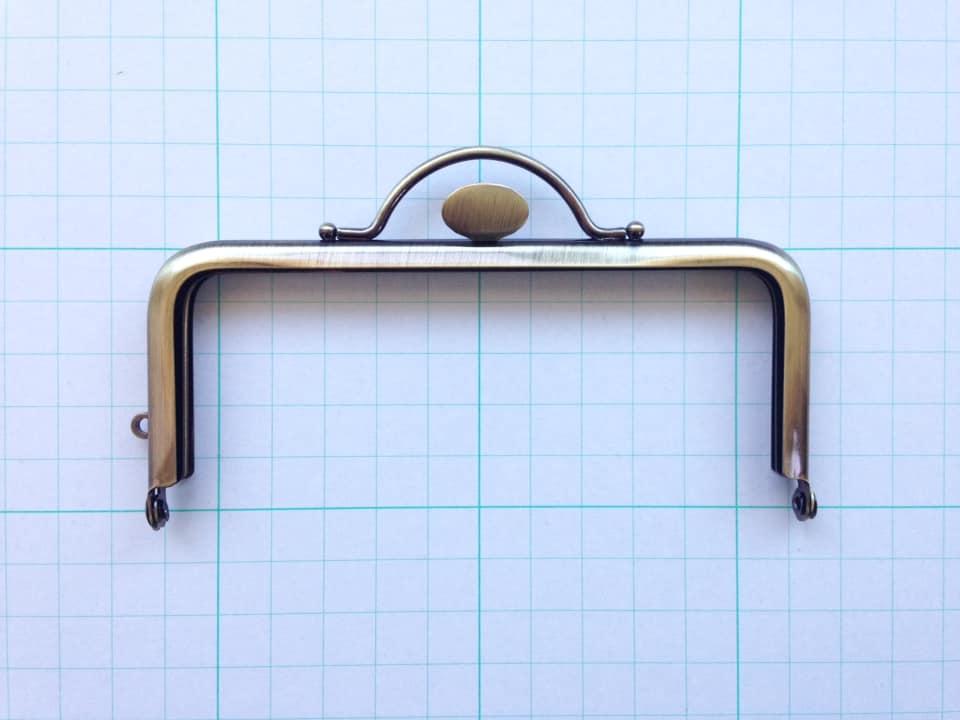 画像1: 【定番口金】12cm角型・押口・AG(デジカメケース)