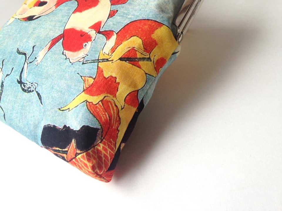 画像4: 【型紙&レシピ】18cm太枠版・御朱印帳入れがま口タテ