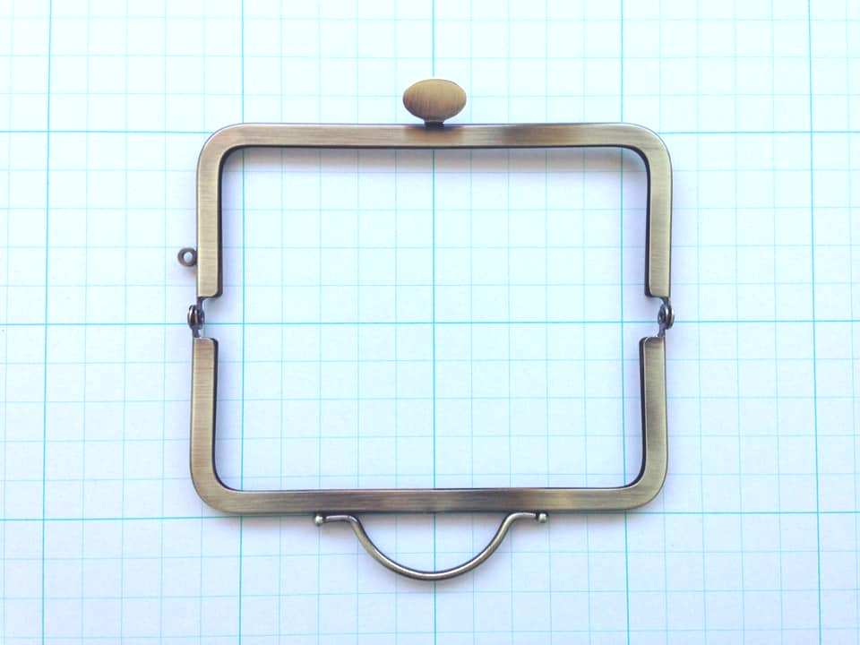 画像2: 【定番口金】12cm角型・押口・AG(デジカメケース)