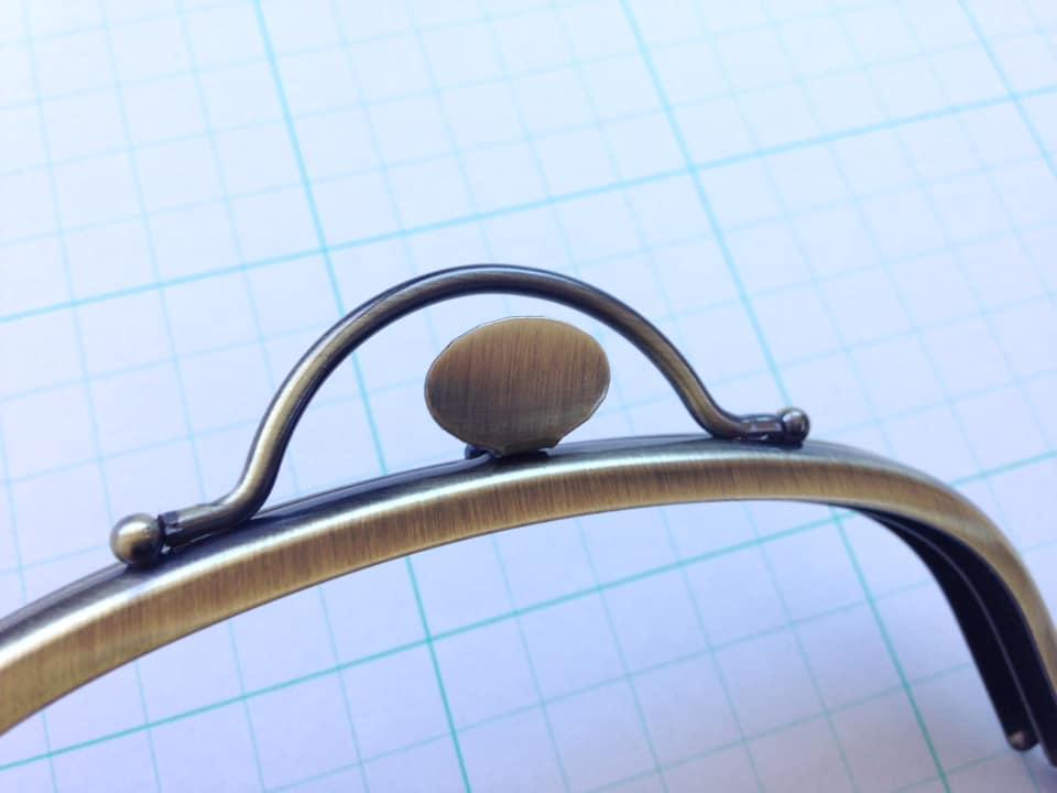 画像5: 【定番口金】12.5cmくし型・押口・AG