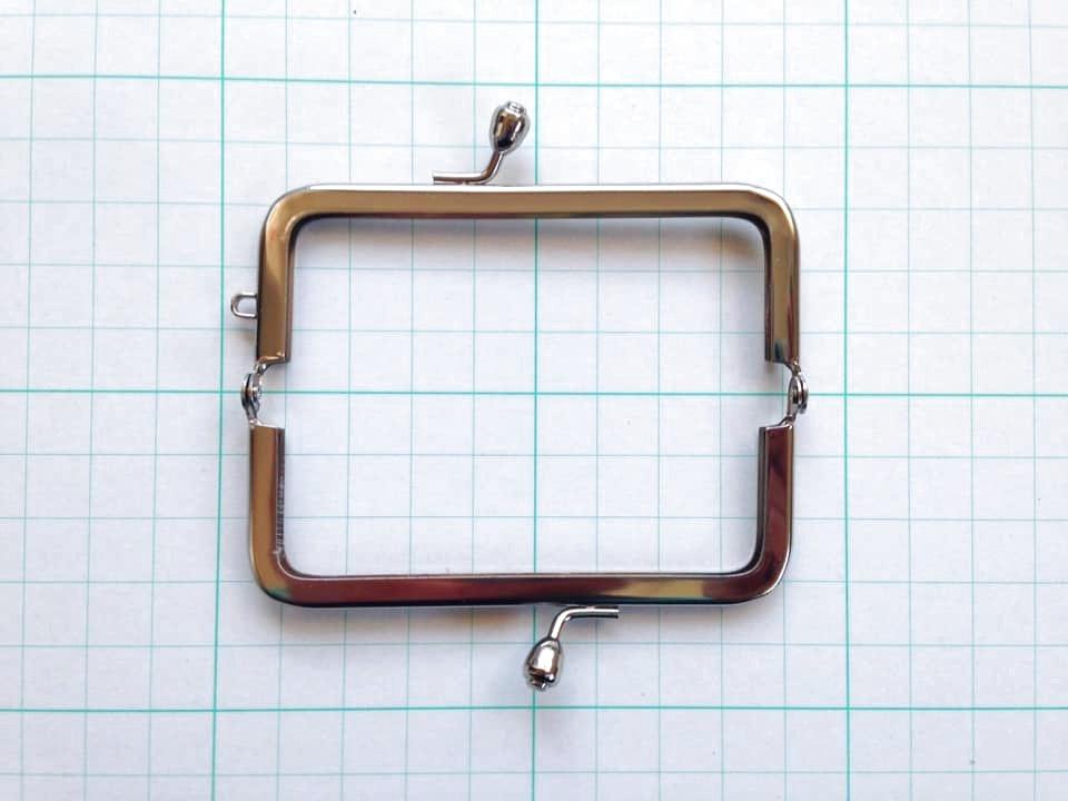 画像2: 【口金】8.5cm角型・銀(印鑑・たばこケース)