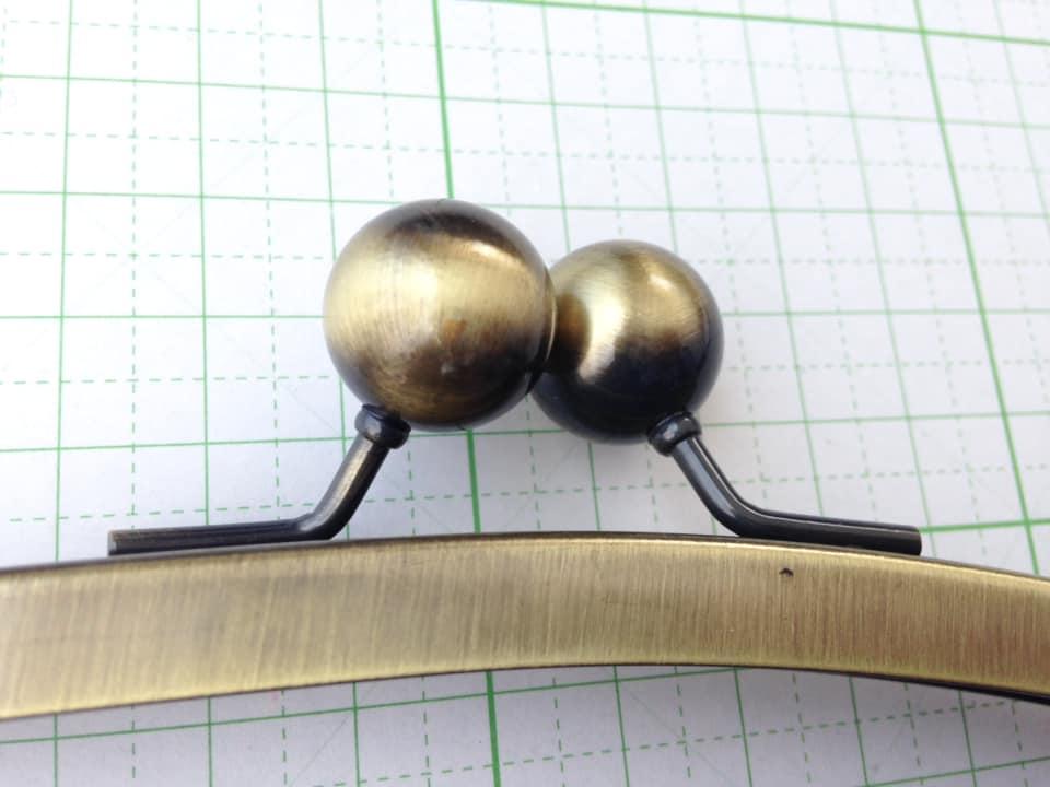 画像3: 【口金】24cm大玉・くし型バック用