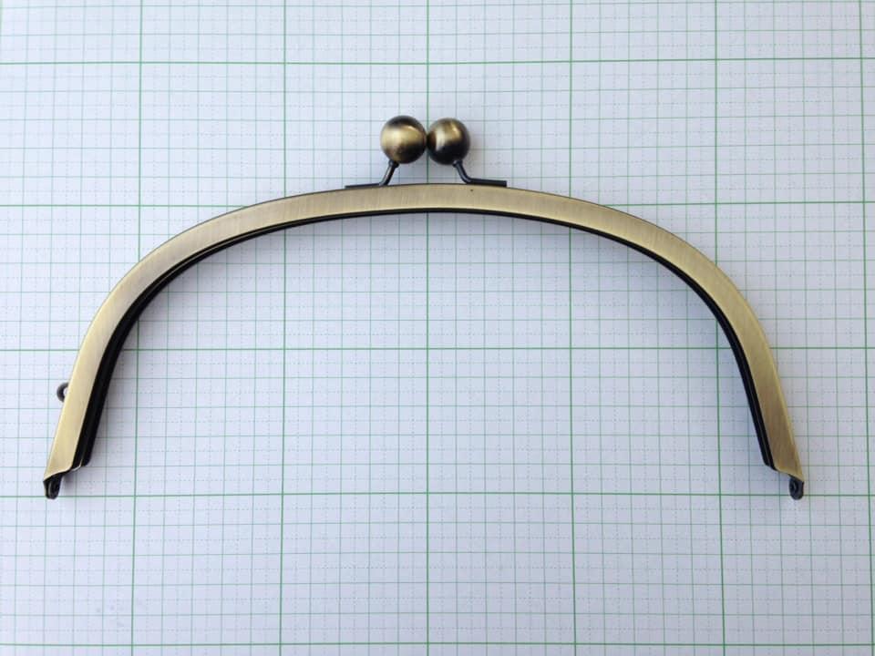 画像1: 【口金】24cm大玉・くし型バック用